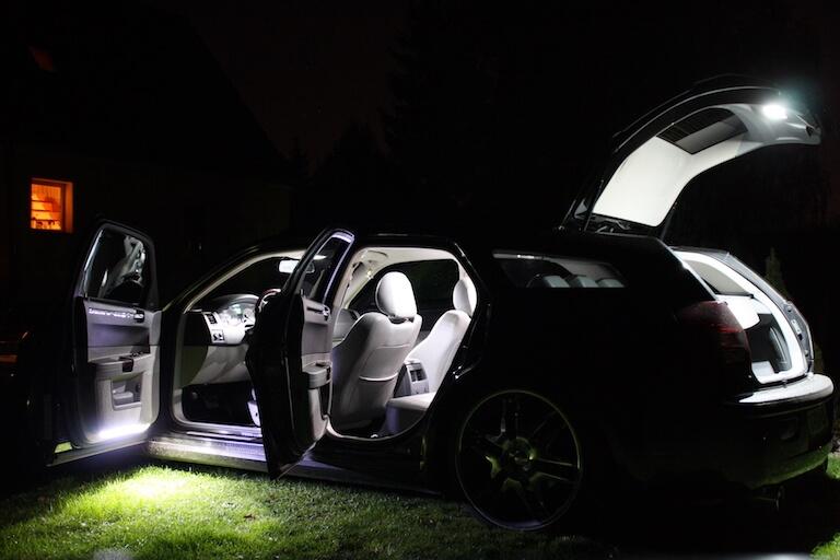 led smd lichtleisten ambientebeleuchtung innenraumbeleuchtung neon blau rot ford ebay. Black Bedroom Furniture Sets. Home Design Ideas